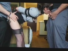 Bound Office Lady Fucked