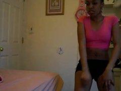 Ebony Teen twerking pt 1