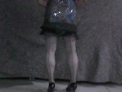 shakin a new dress