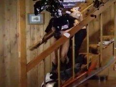 Retro-Nasty Natasha in Anal Ski Vacation