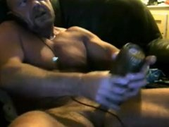 Str8 daddy on cam - phone - fleshlight
