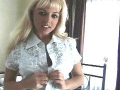 Karen White undressing