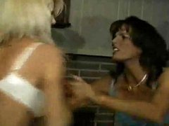 Topless Apartment Catfight