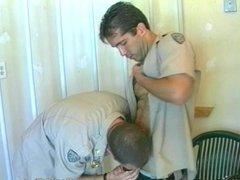 Fun between police shifts
