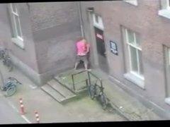 einfach ein heisser Tag in der Innenstadt von Venlo