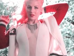 AMERICAN WOMAN - music video tattooed retro redhead teases