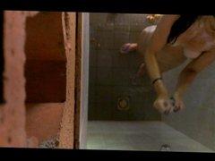 Hidden Shower Camera in Le Lavendou (France)