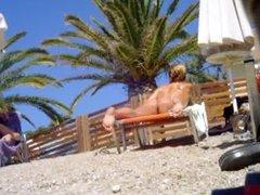 spy voyeur beach