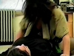 Chubby Mature Wives Catfight