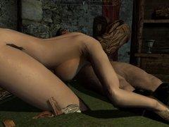 Perils of escaped Skyrim slavegirl 16