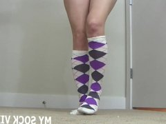 Jerk your cock to me sexy socks JOI