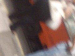 En el metro: Mega nalgotas de la gorda