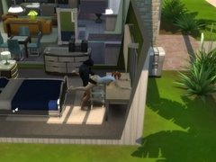 'Redhead single mom sucks it off and I put it in her. [Sims 4]'