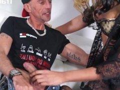 TransBella - Elisabetta Big Tits Brazilian Shemale Hardcore Anal Fuck With Her New Boyfriend