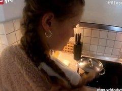 'MyDirtyHobby - Homemade POV fuck with gorgeous German amateur teen'