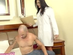 'Hot Trans Doctor Debora Souza Cums in Patients Mouth After She Is Creampied'