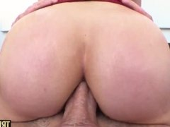 'TRUE ANAL Slim brunette Diana Grace has her bootyhole gaped and creampied'