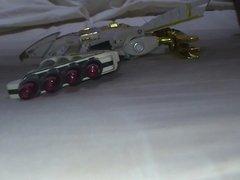 Tsubasamaru toy robot bukkake