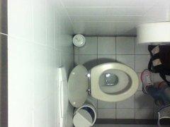 Real girls voyeur bathroom