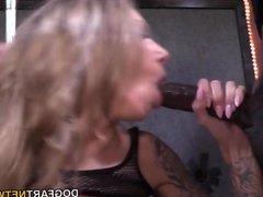 Juelz Ventura Gets A Bunch Of Black Cocks To Please
