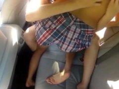 loiras no carro
