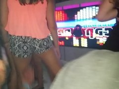 Girls dancing on stage at the club pt.2