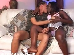 How does it feel having a black babe pegging your white ass