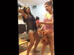 Sexy Thai Teens Dancing