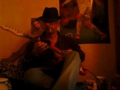 Blues Playing in A on my guitar x