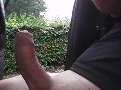 nackt und geil im Auto