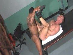 Gay Interracial Gangbang Prison
