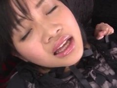 Dirty pussy play for amazing Hikaru Momose