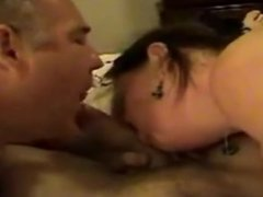 bi-husband and wife, suck another man's cock