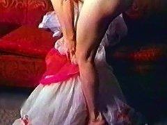LIKE A BABY - vintage striptease 50's blonde heels