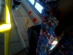 Upskirt Flashing In The Bus