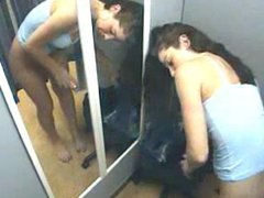 Amateur Hidden camera changing booth DMvideos