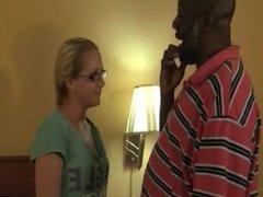 skinny teen taking fat black dick