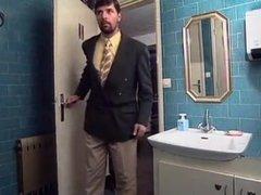 Hot Sex in restaurant bathroom