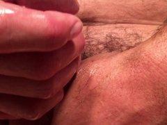Extreme close-up...but thick cum (2 cums)