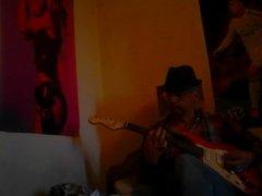 PLAYING GUITAR X FUNKY TUNE YEAH X