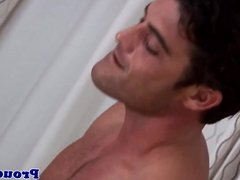 Solo jock masturbating with his thick cock