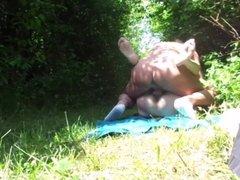 voyeur in forest