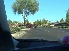 Hayden Driving Nude