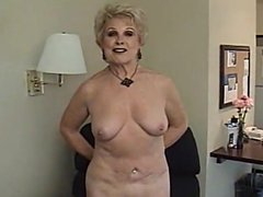 Great Blowjob from Blonde Granny