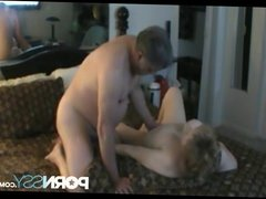 Horny mature couple sex
