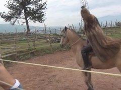 Fur Whipping Riding Goddess Ama K