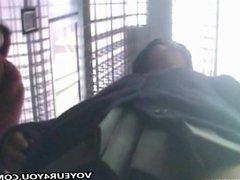 Schoolgirls Upskirt Panties Captured