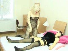 Lesbian rubber dolls