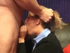 milf blowjob and facial