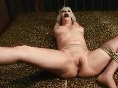 Cherry Thorn tied up and gang fucked 2